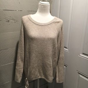 Madewell Cream Knit Sweater